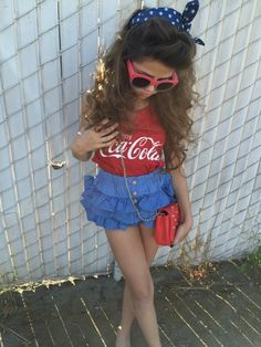 Khia Lopez vintage look from www.weresofancy.com