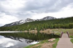 Andrews Lake Day Use Area ~ San Juan National Forest Jeep Trails, Hiking Trails, Alpine Forest, Side Road, Mountainous Terrain, San Juan Mountains, Lake Park, Picnic Area, Trout Fishing