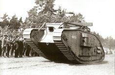 British heavy Mk V tank