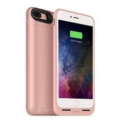 mophie juice pack air protective battery case with wireless charging compatible with iPhone 7 Plus and magnetic charge force accessories