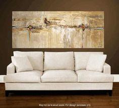 """72 """"art abstrait peinture grande peinture peinture abstraite, de jolina anthony signet express expédition"""