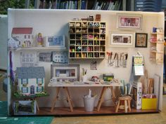 workroom by goldieholl, via Flickr