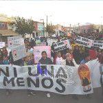 Tinogasta marchó en contra de la violencia de género