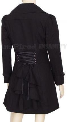 Seen better examples of this, but good basic corset/bustle jacket