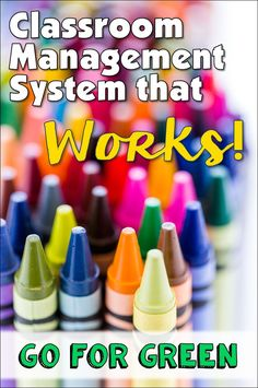 Easy classroom management system that will take the chaos out of your classroom!