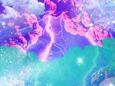 Trippy Psychedelic the Sky Girly, Beltane, Flash Art, Touch Of Gold, Fairy Dust, Pretty Pastel, Rainbow Colors, Psychedelic, Fantasy Art