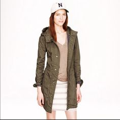J. Crew Fatigue jacket large Great condition. Gorgeous, worn in boyfriend look. J. Crew Jackets & Coats Utility Jackets