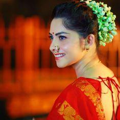 Indian Marathi Actress Sonali Kulkarni