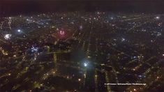 Right at midnight on New Year's Eve, photographer Jeff Cremer sent his camera drone up into the skies above Lima, Peru to capture the sights and sounds of residents shooting off fireworks. A heck of a lot of fireworks it turns out, shot from streets and rooftops across the entire city. Cremer