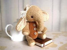 PATTERN Download to create Teddy like Elefant Sasha von zverrriki,