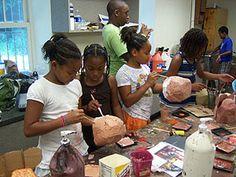 Allens Lane Summer Art Camp: June 25 - August 17, 2012