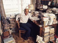 The most famous Polish reporter Ryszard Kapuściński, photo: Aleksander Jałosinski / Forum