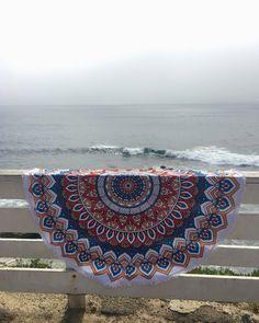 Mandala Circle Towel