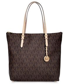 MICHAEL Michael Kors Handbag, Jet Set Large Tote.  or maybe i want this one? but it doesnt have pocketss