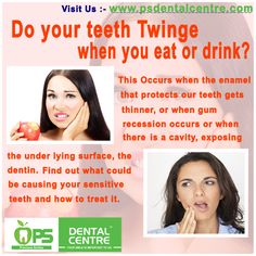 Do your teeth is Twinge when you eat or drink  ?
