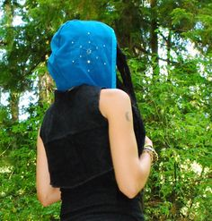 Sacred Geometry Hood Festival Hood Gypsy by IntergalacticApparel