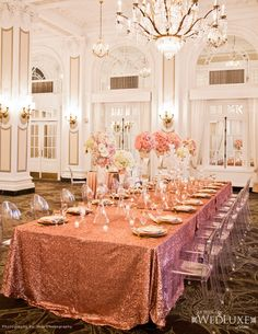 2014 Modern Wedding Reception Ghost Chair Trends
