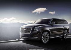 Следующее поколение Cadillac Escalade 2014 года
