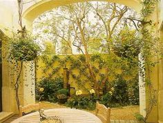 The Mediterranean Courtyard is birthed from a region of many great civilizations