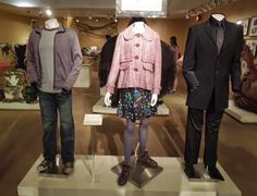 Harry Potter, Luna Lovegood and Draco Malfoy film costumes