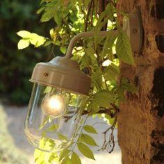 Big Barn Lamp - Clay I heart this
