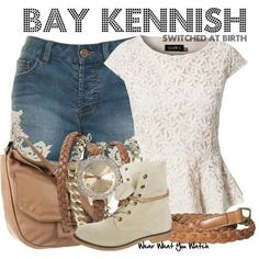 """Inspired by Vanessa Marano as Bay Kennish on Switched At Birth"""" - Shopping info!"""