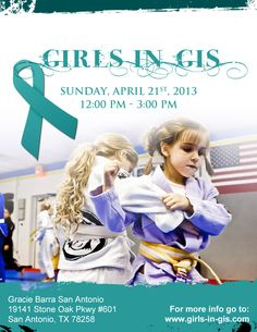 The purpose of Girls in Gis is to create a community of girls and women who train Brazilian jiu-jitsu and provide a fun, friendly environment for training. Because BJJ is based on leverage and technique it is designed perfectly for women who are usually smaller, and weaker than their opponent. But the number of women who train BJJ is still very small compared to the number of men that train.