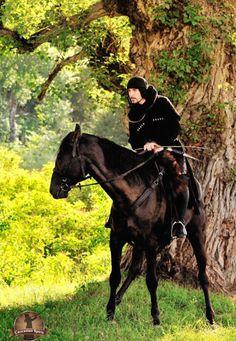 Circassian men fighter  North Caucasus people culture traditions
