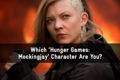 I got Johanna Mason? Whick Hunger Games: Mockinjay Character Are You?