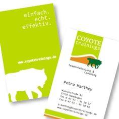 Auftragsumfang: Logo, Visitenkarten, Briefpapier und Website.