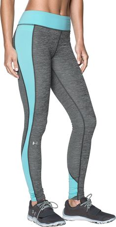 Under Armour Female Coldgear Colorblock Leggings - Women's