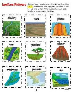 Social Studies- Geography Interactive Notebook We could use this when we introduce earth's structures/U. Geography For Kids, Geography Map, Teaching Geography, World Geography, Teaching Science, Social Science, Science Activities, Geography Activities, Geography Interactive Notebook