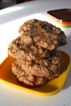 Best Healthy Oatmeal Cookies Ever! I use all whole wheat flour, added cinnamon and freshly ground nutmeg as well. Very good!