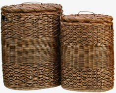 The Basket Lady Oval Hamper by The Basket Lady. $89.00. Includes a removable cotton liner. Plastic feet for floor protection. Lid lifts off easily with a sturdy leather handle. Available in 2 sizes. Save 15% off the regular price on the purchase of a nested set of 2 (one of each size, same color). Made of the same wonderful weave as our Round Hamper, but made it into an oval shape.