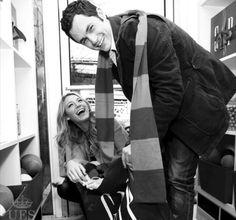 Blake Lively with Penn Badgley.......