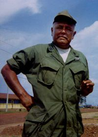 Pascal Poolaw has been called America's most decorated Indian soldier with 42 medals and citations. 