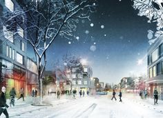 Mandaworks & Hosper win Masterplan design competition in Vaasa, Finland