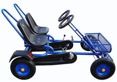 Two-Seat Pedal Go Kart