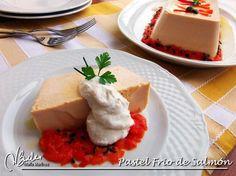 Pastel de Salmon Dieta Dukan