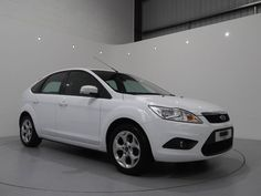 Ford Focus 1.6 Sport Finished in Frozen White with Black Interior and Contract Stitching. For more images and spec: http://www.simonjamescars.co.uk/ford-focus-sport-in-derbyshire-3910681
