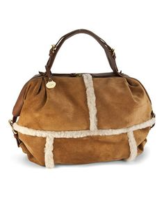 Take a look at this Chestnut Quinn Zip Satchel by UGG® Australia on #zulily today!