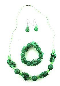 Glass Bead & Rhinestone Necklace, Bracelet, & Earring Set - Green Glass Bead ...  Product ViewSee larger image and other views (with zoom)Check All OffersAdd to Wish ListCustomer ReviewsFeaturesGlass Bead & Rhinestone Bead Fashion Jewelry SetGlass Bead Necklace, Bracelet, & http://ecx.images-amazon.com/images/I/41Fd%2BchsIeL._SL300_.jpg http://electmejewellery.com/jewelry/jewelry-sets/glass-bead-rhinestone-necklace-bracelet-earring-set-green-glass-bead-ca/