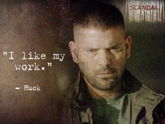#Scandal - Huck is one of our favorite characters!!  You NEED to be watching this show!!