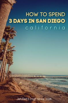 Need help planning your Weekend in San Diego Itinerary? Our day-by-day guide includes the top attractions and city highlights! Usa Travel Guide, Travel Usa, Travel Guides, Travel Tips, California City, California Travel, Southern California, San Francisco Vacation, San Diego Travel