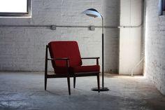 Vigilant Viko Baumritter Mid Century Modern Walnut Arm Chair (U.S.A. 1950s)