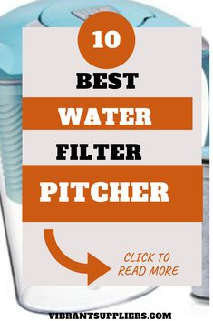 Best water filter pitchers