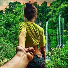 Murad Osmann #jungle #couple #picture