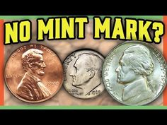 Searching for valuable coins in your pocket change can sometimes lead to you finding rare error coins. In this video we look at missing mint mark coins worth. Valuable Pennies, Rare Pennies, Valuable Coins, Old Coins Worth Money, Penny Values, Canadian Coins, Rare Stamps, Coin Worth, Error Coins