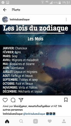 Quelle est votre mois ? Moi c'est octobre !♥️ Gemini Horoscope Today, Horoscope Dates, Astrology Aquarius, Zodiac Signs Horoscope, Astrology Signs, Horoscopes, Signes Zodiac, Best Zodiac Sign, Funny Quotes