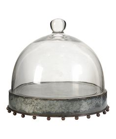 Another great find on #zulily! Rust Flat-Bottom Cake Stand by A&B Home #zulilyfinds
